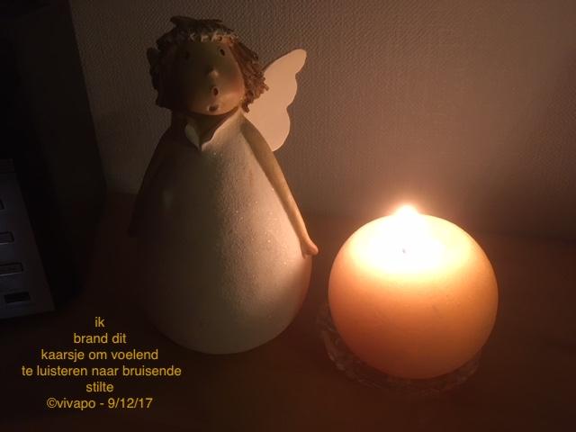 engel met kaars