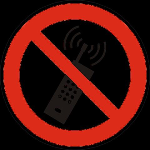 smartphone verboden